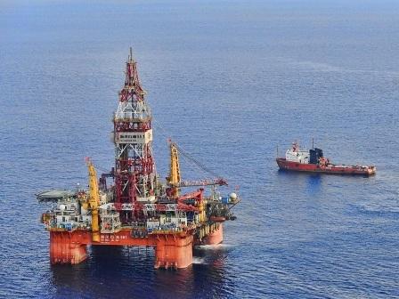 Trung Quốc hạ đặt giàn khoan thăm dò dầu khí trái phép trên vùng biển của Việt Nam từ đầu tháng 5