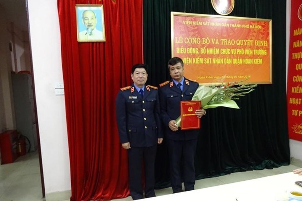 Hủy án sơ thẩm vụ liên quan đến Phó Viện trưởng Viện KSND quận Hoàn Kiếm