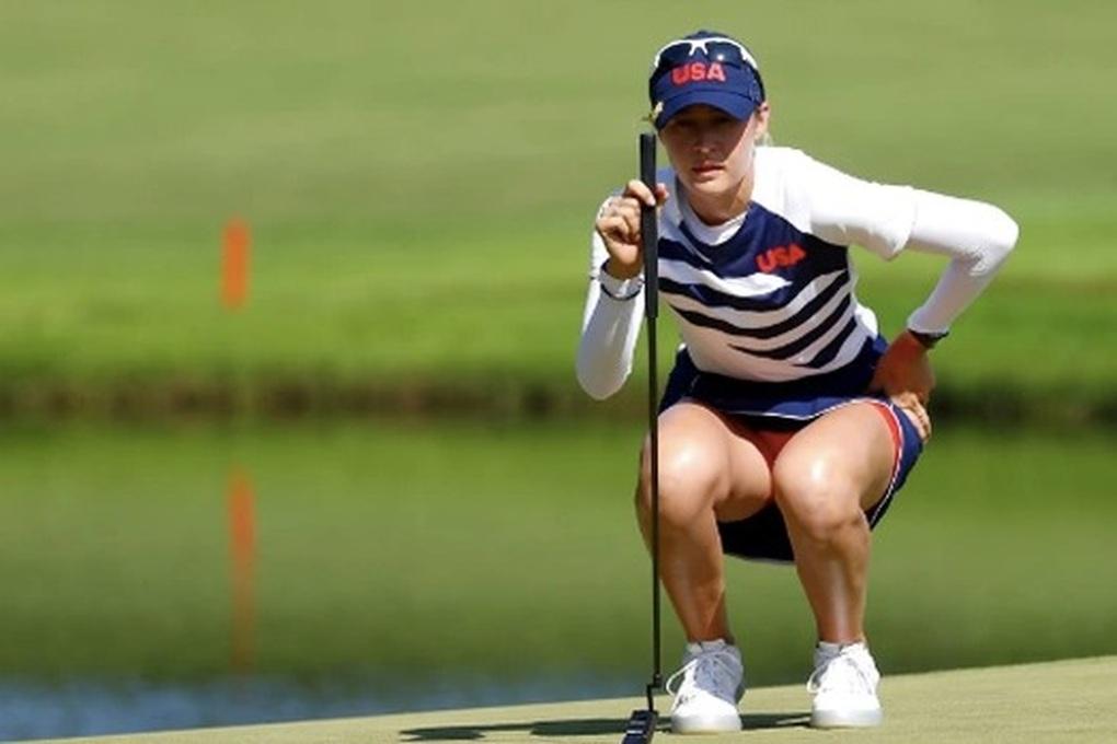 Nelly Korda xác nhận tham dự sự kiện golf Saudi Aramco Team Series