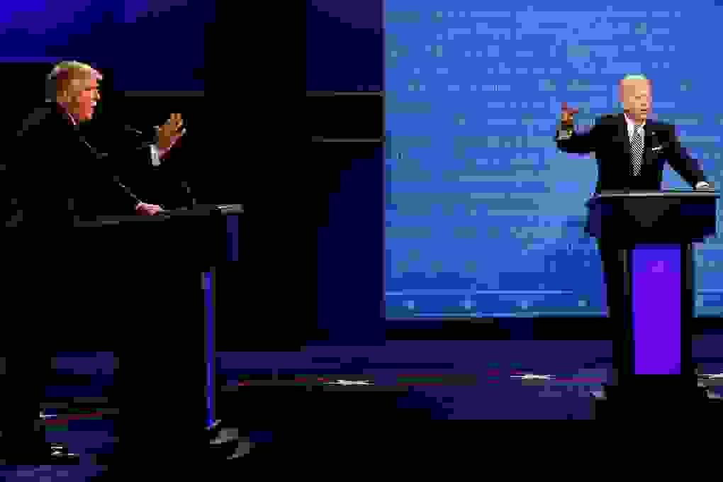 Bầu cử Mỹ 2020: Trump, Biden sẽ bị tắt micro khi đối thủ tranh luận