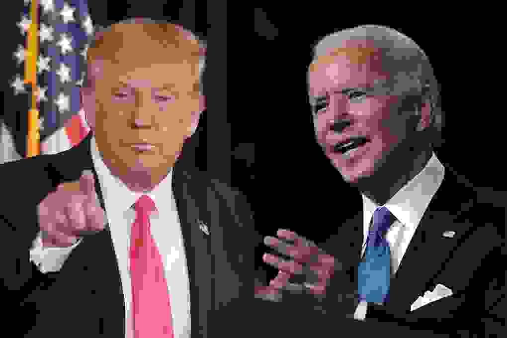 """Những """"đòn công kích"""" của Trump, Biden khi tranh luận tay đôi"""