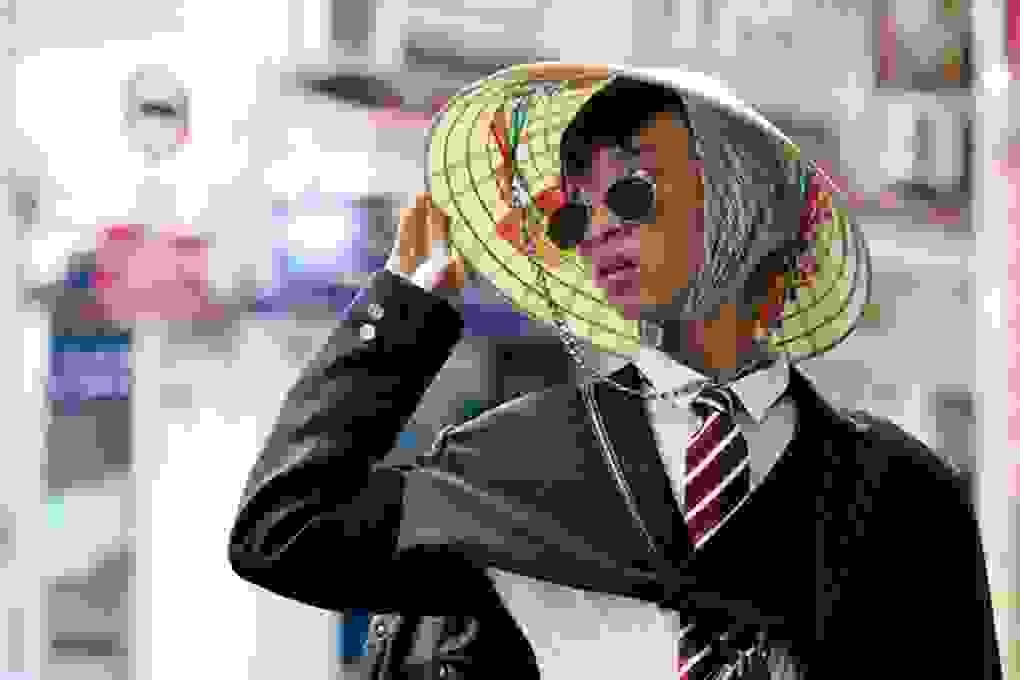 """""""So kè"""" các mẫu thời trang đường phố tại ngày hội thời trang"""