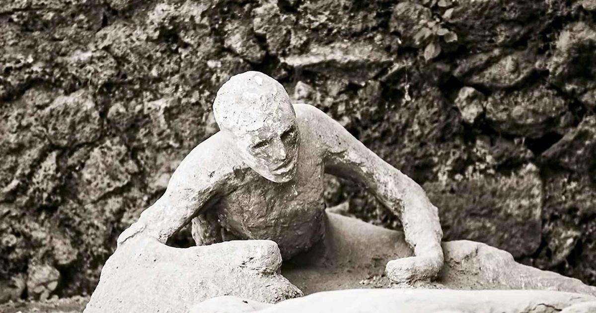 'Sốc' với thứ duy nhất 'sống sót' trong thành phố bị núi lửa chôn vùi 2.000 năm