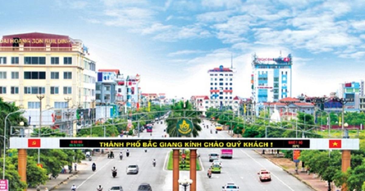 Thành phố Bắc Giang - mở rộng quy hoạch vùng lõi sang phía Đông Bắc | Báo  Dân trí