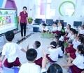 Bước tiến mới - Ứng dụng màn hình tương tác thông minh trong giảng dạy