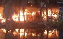 Cháy lớn ở khu câu cá giải trí