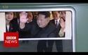 Đoàn tàu bọc thép đặc biệt của ông Kim Jong-un