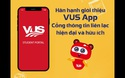 VUS App - Cổng thông tin liên lạc giữa Phụ huynh/Học viên & VUS