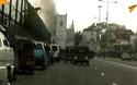 Khoảnh khắc bom phát nổ ở nhà thờ Sri Lanka