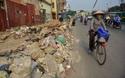Đường Trường Chinh vừa tắc đường vừa ngập ngụa rác thải
