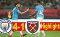 Đánh bại West Ham, Man City vào chung kết Premier League Asia Trophy