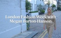Megan Barton-Hanson đi xem thời trang