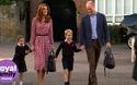 Ngày đầu tiên đi học của Công chúa Anh