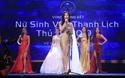 """Phần thi ứng xử của giải nhất """"Nữ sinh thanh lịch Thủ đô 2019"""" - Trần Nam Phương"""