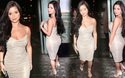 Demi Rose diện váy gợi cảm