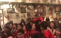 Khí thế hừng hực của DHS Việt tại Nhật cổ vũ U23 Việt Nam