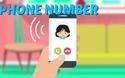 Tiếng Anh trẻ em: Thuộc lòng cách hỏi số điện thoại trong nháy mắt