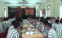 Bữa cơm Tất niên sớm cho các phạm nhân ở Trại Tạm giam Công an tỉnh Nghệ An