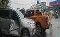 Hiện trường vụ tai nạn liên hoàn giữa 7 xe trên quốc lộ 1A
