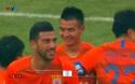 Bin Bin giúp Shadong Luneng nới rộng tỷ số lên 3-1