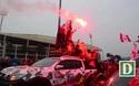 """CĐV Hải phòng """"cháy""""hết mình trước trận U23 Việt Nam gặp U23 Indonesia"""