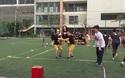 Ngày hội anh tài trường Ams mở màn bằng hoạt động thể thao độc đáo và sôi động