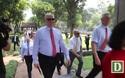 Đoàn nghị sĩ Mỹ thăm Văn Miếu Quốc Tử Giám