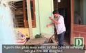 Người dân đảo Bé mua nước với giá 220.000 đồng/m3