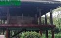Cận cảnh nhà sàn Bác Hồ ở Cà Mau.