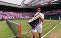 Federer thắng set 2 dễ dàng trước Djokovic