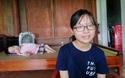 Ước mơ ra trường có việc làm ổn định để giúp đỡ gia đình của cô SV nghị lực