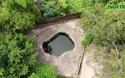 Kỳ lạ giếng cổ hình bàn chân khổng lồ tại ngoại thành Hà Nội