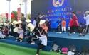Cổ động viên Nghệ An diễn tập trước thềm Chung kết Olympia