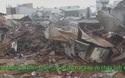 Chợ Mộc Bài biến thành đồng đổ nát sau vụ cháy lớn