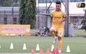 Thành Lương, Xuân Mạnh ghi dấu ấn với phần thi thử thách sân cỏ