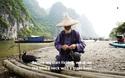 Nghệ thuật câu cá trên sông ... bằng chim