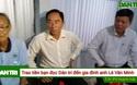 Trao tiền bạn đọc Dân trí đến anh Lê Văn Minh.