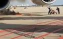 Hành khách hoảng hốt chứng kiến động cơ máy bay cháy ngùn ngụt
