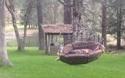 Chiếc xích đu đầy thú vị mà ai cũng mơ ước được sở hữu trong vườn nhà