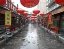 Đường phố Bắc Kinh trước giờ duyệt binh lịch sử