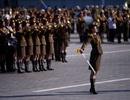 Những bóng hồng xinh đẹp trong lễ duyệt binh của Triều Tiên