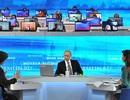 Người Nga được thỏa nguyện ngay sau đối thoại trực tuyến với Tổng thống Putin