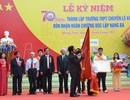Trường THPT chuyên Lê Khiết đón nhận Huân chương Độc lập hạng Ba