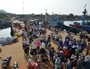 Gần 500 du khách mắc kẹt ở đảo Lý Sơn do biển động