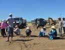 Vụ dân chặn khai thác cát: Tỉnh chỉ đạo tạm dừng thi công