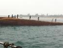 Huy động thợ lặn Hàn Quốc tìm nạn nhân vụ lật sà lan