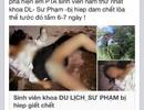 Điều tra xử lý nghiêm Facebooker tung tin đồn nữ sinh bị hiếp dâm, chết lõa thể