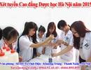 Cao đẳng Dược học Hà Nội hướng dẫn xét tuyển bổ sung năm 2015