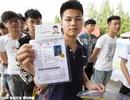 Thí sinh giỏi ở Trung Quốc chuộng ngành Quản lý, Kỹ thuật và Kinh tế