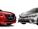 Cuộc chiến giữa Toyota Altis và Mazda3
